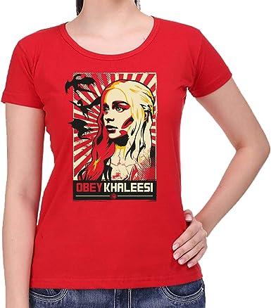 The Fan Tee Camiseta de Mujer Juego de Tronos Tyrion Snow Dragon Daenerys Stark 040: Amazon.es: Ropa y accesorios