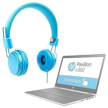 DURAGADGET Auriculares De Diadema Color Azul para Portátil ...