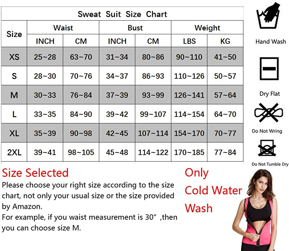 Womens Sweat Latex Waist Trainer Corset Hourglass Vest Body Shaper Weight Loss Fat Burner