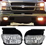 amazon com for chevy silverado pair of bumper driving fog lights rh amazon com