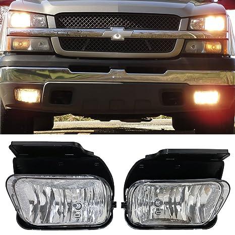 71aYOm r%2BYL._SX466_ amazon com lights fit for 2003 2006 chevy silverado fog lamp fog