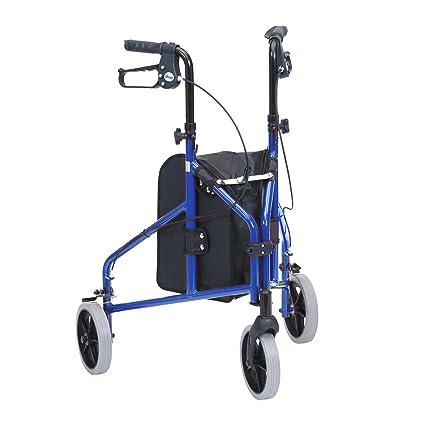 Drive Medical Triwalker - Andador con tres ruedas (aluminio)
