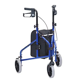 Amazon.com: Drive Medical TW008B Ultralight Aluminium Blue ...