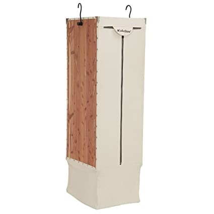 Amazon.com  Household Essentials Cedar Stow Long Garment Hanging ... f0c6c32cc7
