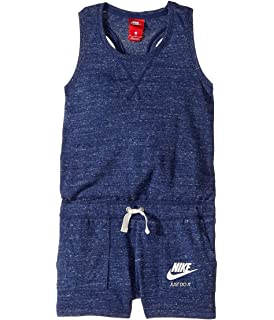 buy popular 4141c 54dce NIKE Kids Sportswear Vintage Romper Little Kids Big Kids Binary Blue Sail  Sail