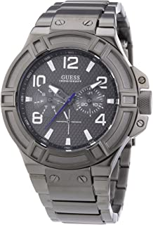 Guess W0218G1 mm Mineral Mens Watch