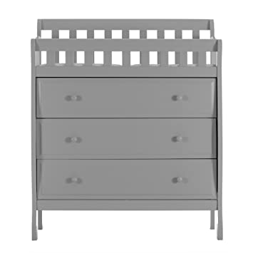 Dream On Me Marcus Changing Table And Dresser, Grey