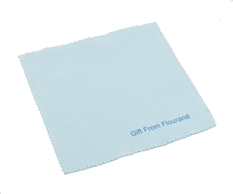 flourand (TM) Acero Inoxidable y funda funda y de piel sintética tarjeta de negocios 87ab44