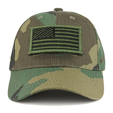 Trendy Apparel Shop Youth Military Olive American Flag Patch On Tactical  Cap - BDU 2df3e94d7a78