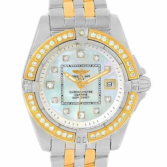 Breitling cabina cuarzo mujer reloj d71356 (Certificado) de segunda mano