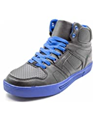 Co-Xist Men's Rick High Top Fashion Colored Bottom Sneakers