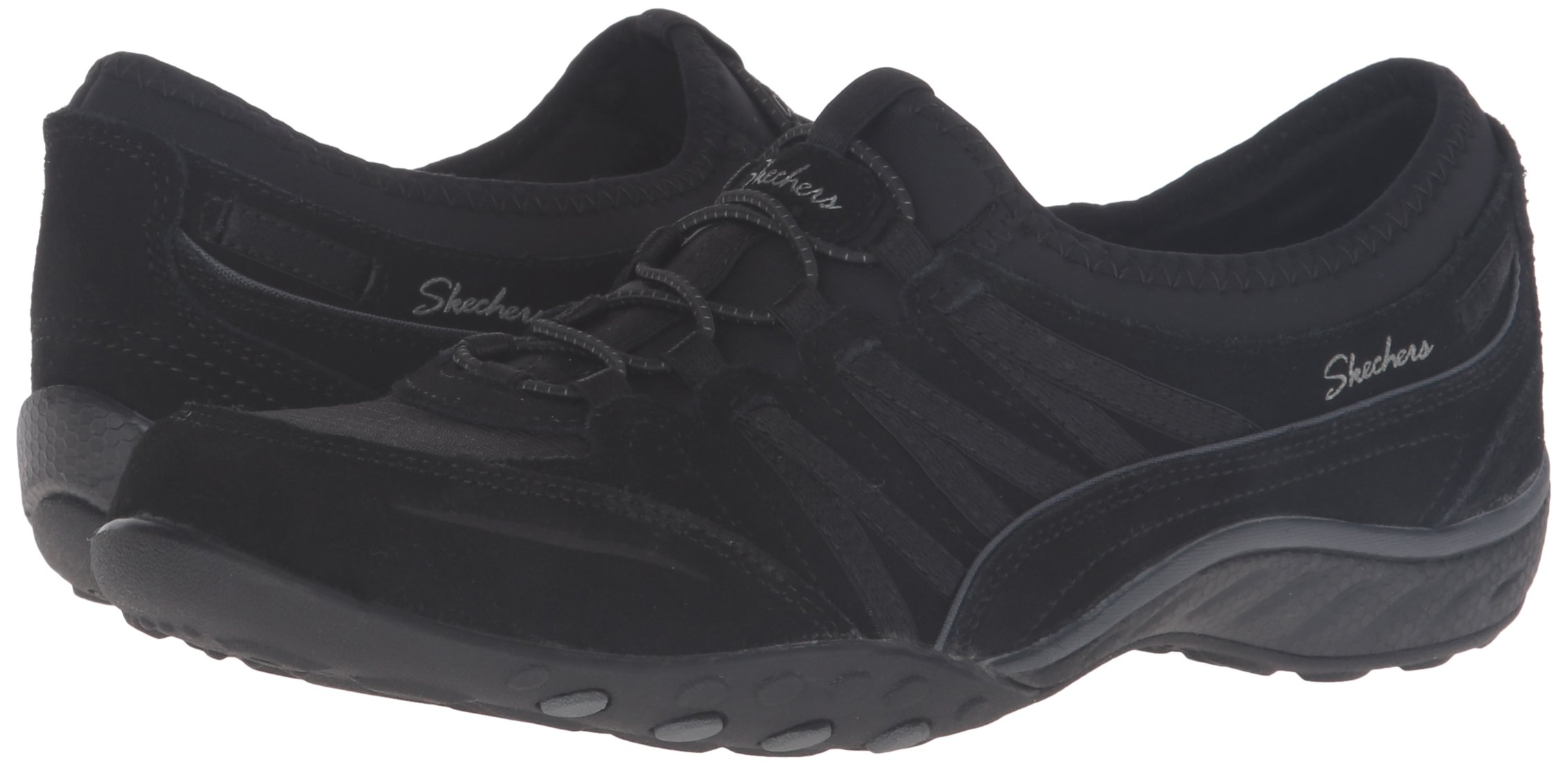 c0e0812f5f6 Skechers Sport Women's Breathe Easy Moneybags Fashion Sneaker,Black  Suede,9.5 M US - 23020-017 < Walking < Clothing, Shoes & Jewelry - tibs