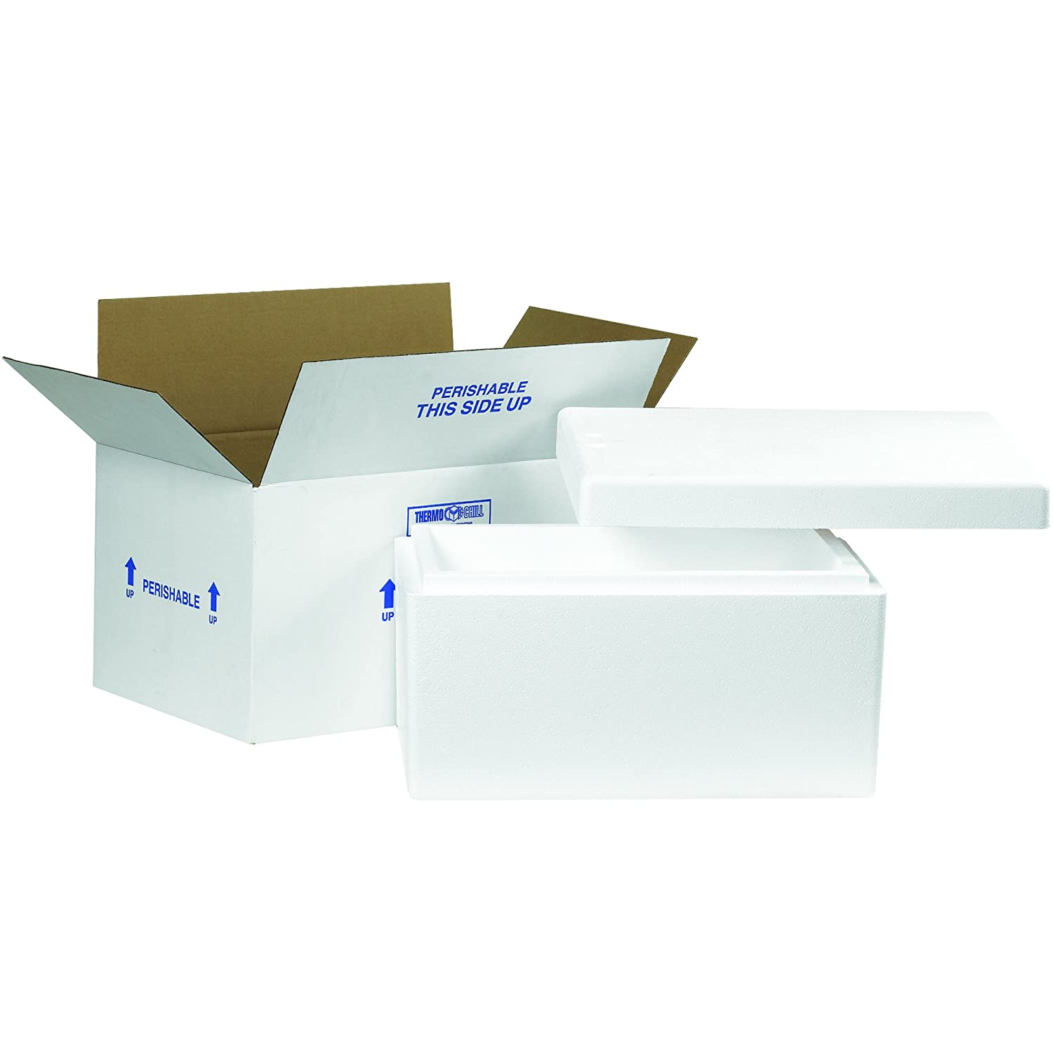 8547ff49d2e8 Amazon.com: Boxes Fast BF245C Insulated Shipping Box with Foam ...