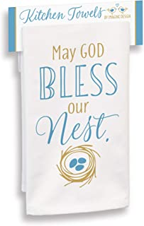 product image for Imagine Design May God Bless Our Nest Towel, Multi