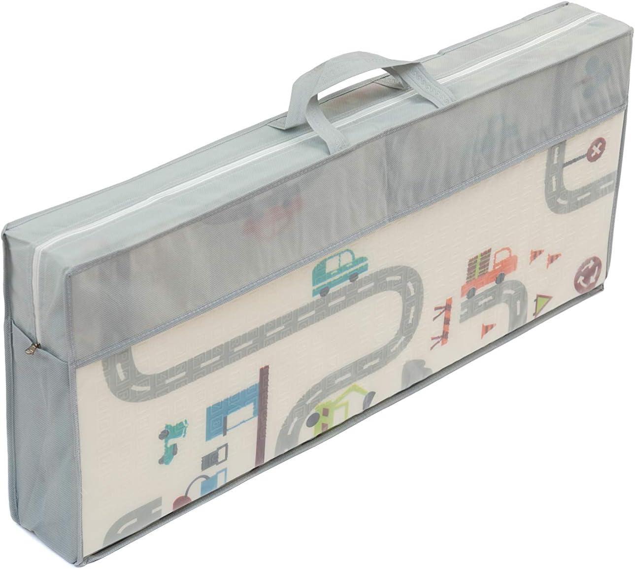 Modelo 3 Alfombra infantil plegable Suelo para bebes acolchado 2 caras 180 cm x 160 cm