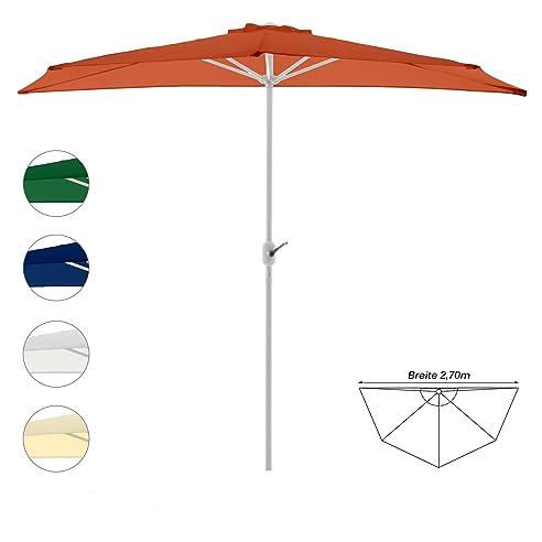 Amazon.de: Sonnenschirm Schirm mit Kurbel für Garten Terrasse ...