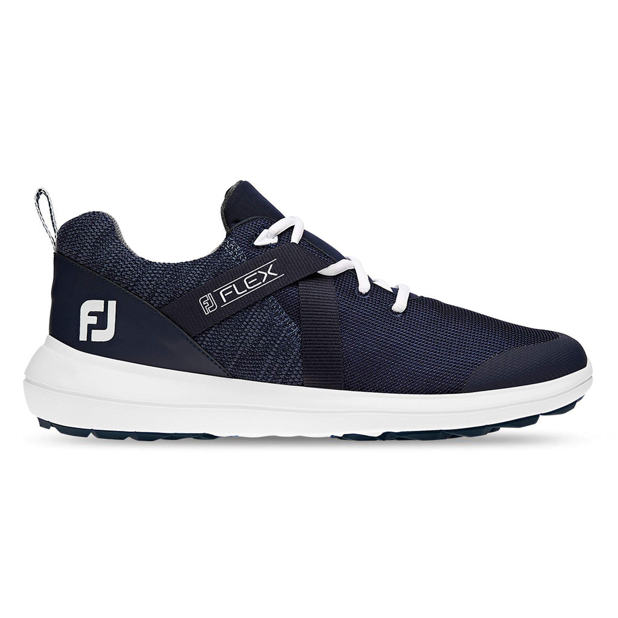 FootJoy Men's Flex Golf Shoes Blue 10 M, Navy, US by FootJoy