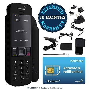 BlueCosmo Inmarsat isatphone 2.1 Kit de teléfono satelital 1 ...