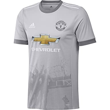 pretty nice c3a1b 69668 Amazon.com: adidas Manchester United Third Authentic Jersey ...
