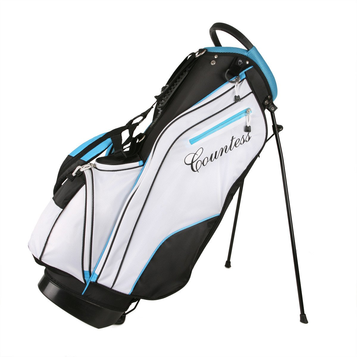 Powerbilt Countess Ladies Blue Stand Golf Bag