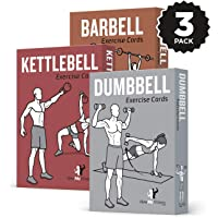 NewMe Fitness 3-Pack Exercise Cards