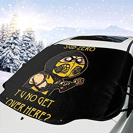 Amazon.es: MaMartha Car Windshield Snow Cover Ninja Meme Sub ...