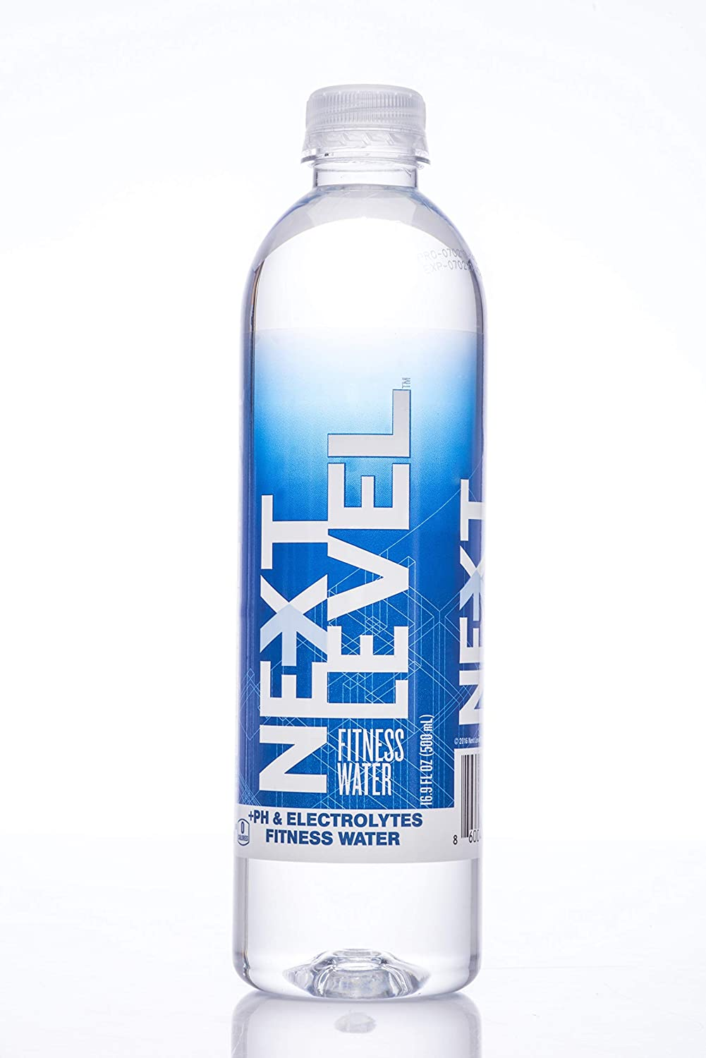 NEXT LEVEL Fitness Water, Premium bottled water, Spring Water infused with natural pH and electrolytes 16.9 FL OZ (24)