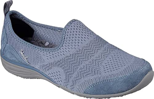 Skechers Womens Womens Unity Moonshadow Active Shoes in Blue - UK 3