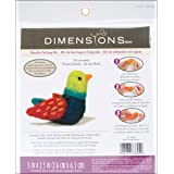 Dimensions Needlecrafts Needle Felted Character Kit, Bird