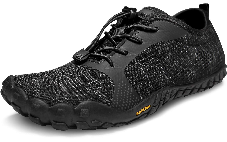 TSLA Men s Zero-Drop Trail Running Trek Minimalist Barefoot Training Shoe