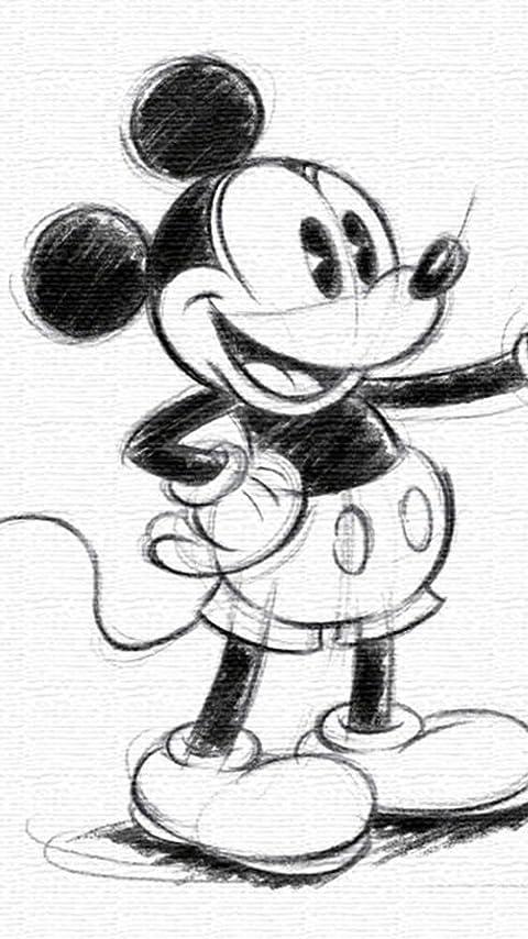 ディズニー ミッキーマウス XFVGA(480×854)壁紙画像