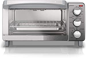 IVY 4-Slice Toaster Oven, Convection Oven with Stainless Steel Exterior (1150W)