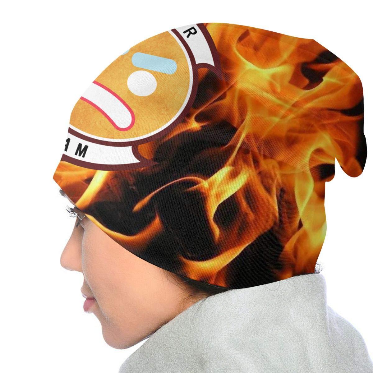 Wyatt Koerner Kids Boys Girls Knit Lazarbeam Logo Beanie Hat Warm Winter Knit Hats Unisex Skull Cap