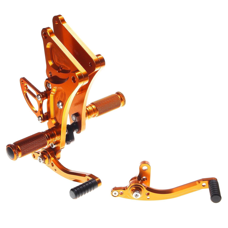 TARAZON CNC Adjustable Rearsets Foot pegs Rear Sets for Buell XB9 XB12 R S XB9R XB12R XB9S XB12S Lightning firebolt Thai-Racing Co. Ltd