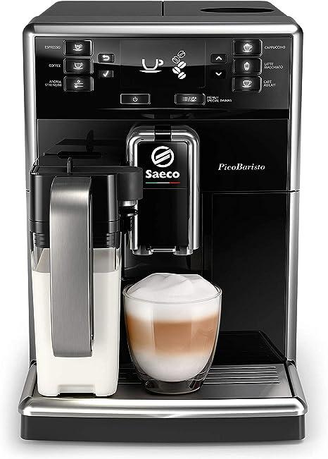 Philips Saeco SM5470/10 cafetera eléctrica Independiente Máquina Espresso Negro 1,8 L Totalmente automática - Saeco SM5470/10, Independiente, Máquina Espresso, 1,8 L, Granos de café, De café molido,: Amazon.es: Hogar