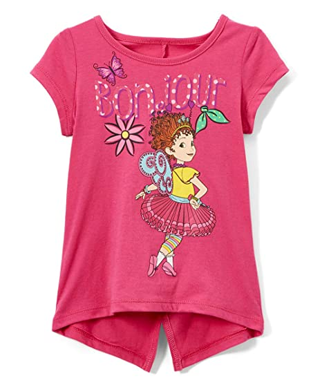 c590d458d Amazon.com: Disney Fancy Nancy T-Shirt Top, Gray or Pink, Sizes Toddler and Little  Girls: Clothing