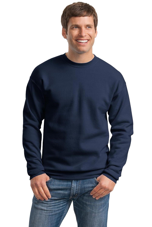 Hanes Mens ComfortBlend EcoSmart Crewneck Sweatshirt, L, Navy P160