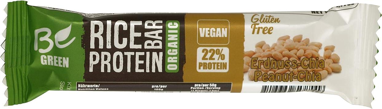 Begreen Bar (Cacahuete de Gia) I Vegan I 19% Proteínas Pro ...
