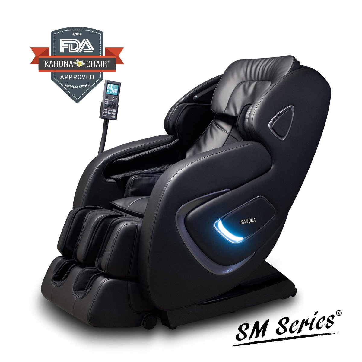 AIR FLOAT 3D+ 6 INFRARED ROLLER MECHANISM KAHUNA SUPERIOR MASSAGE CHAIR - SM-9000 (BROWN) Kahuna Massage Chair