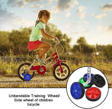 Ruedines para bicicleta, para ruedas de 12 a 20 pulgadas, ideal para aprendizaje infantil, de BluFied, azul: Amazon.es: Deportes y aire libre
