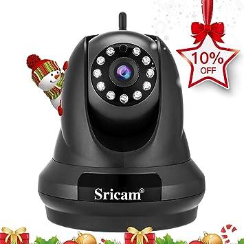 Sricam SP018 Cámara WiFi IP HD de seguridad para el hogar, 1080p cámara de vigilancia inalámbrica ...