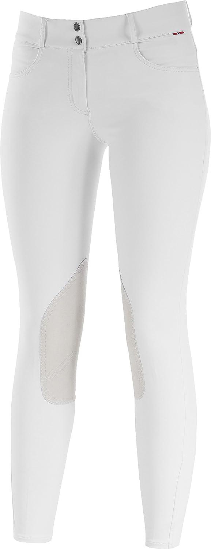 B Vertigo Kimberley Show Leather Knee Patch Breeches