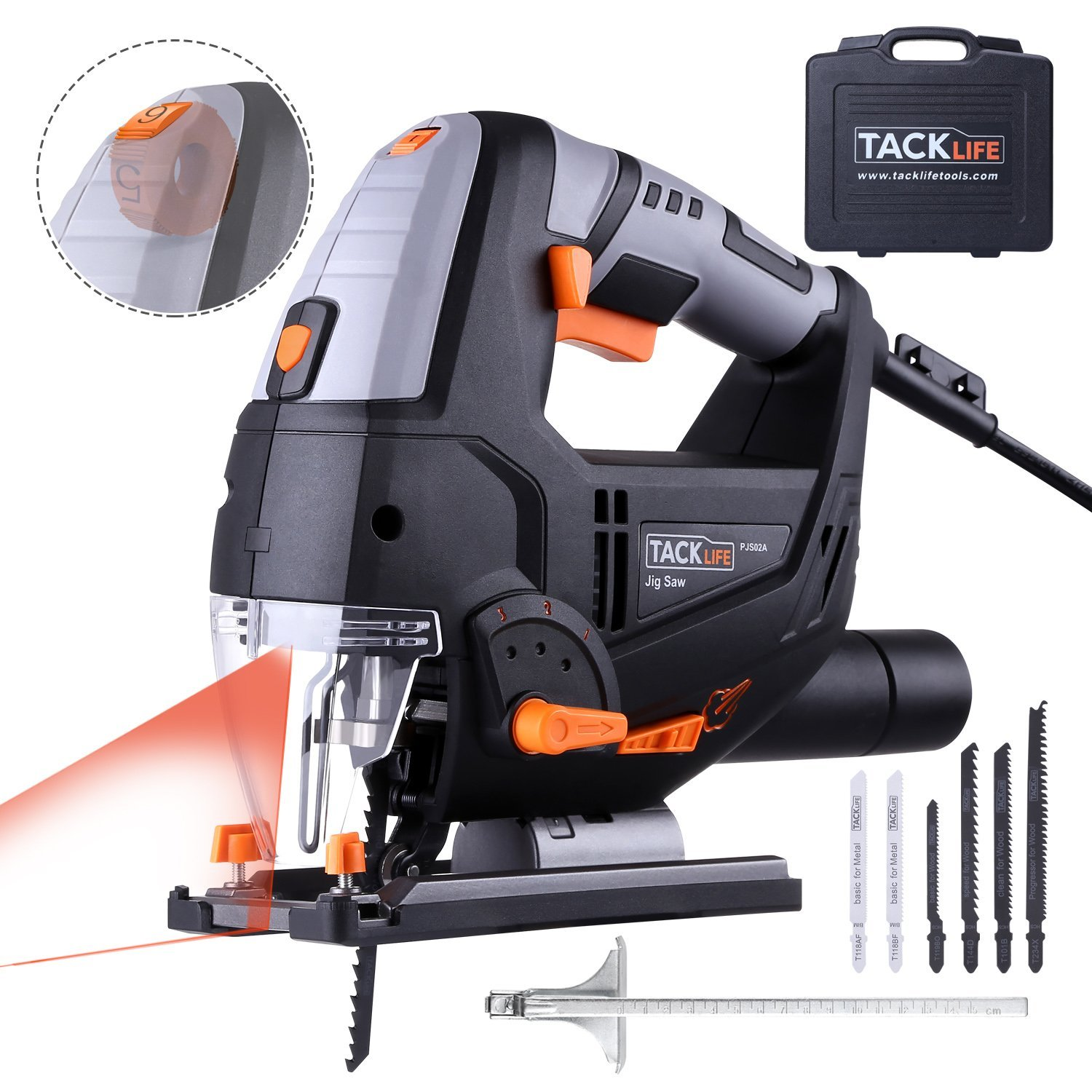 Tacklife 6.7-Amp Laser Jig Saw Review 1