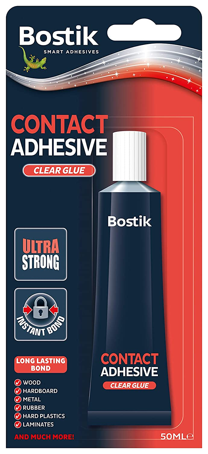 Bostik Contact Extra Strong Adhesive 50ml Blister