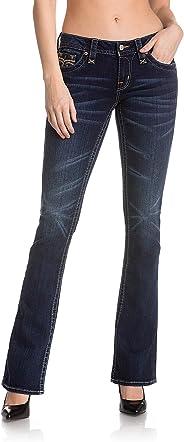 Rock Revival - Womens Anabela B227 Bootcut Jeans