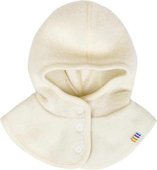 Joha Baby Kinder Unisex Schalm/ütze aufkn/öpfbar Balaclava Merino-Wolle