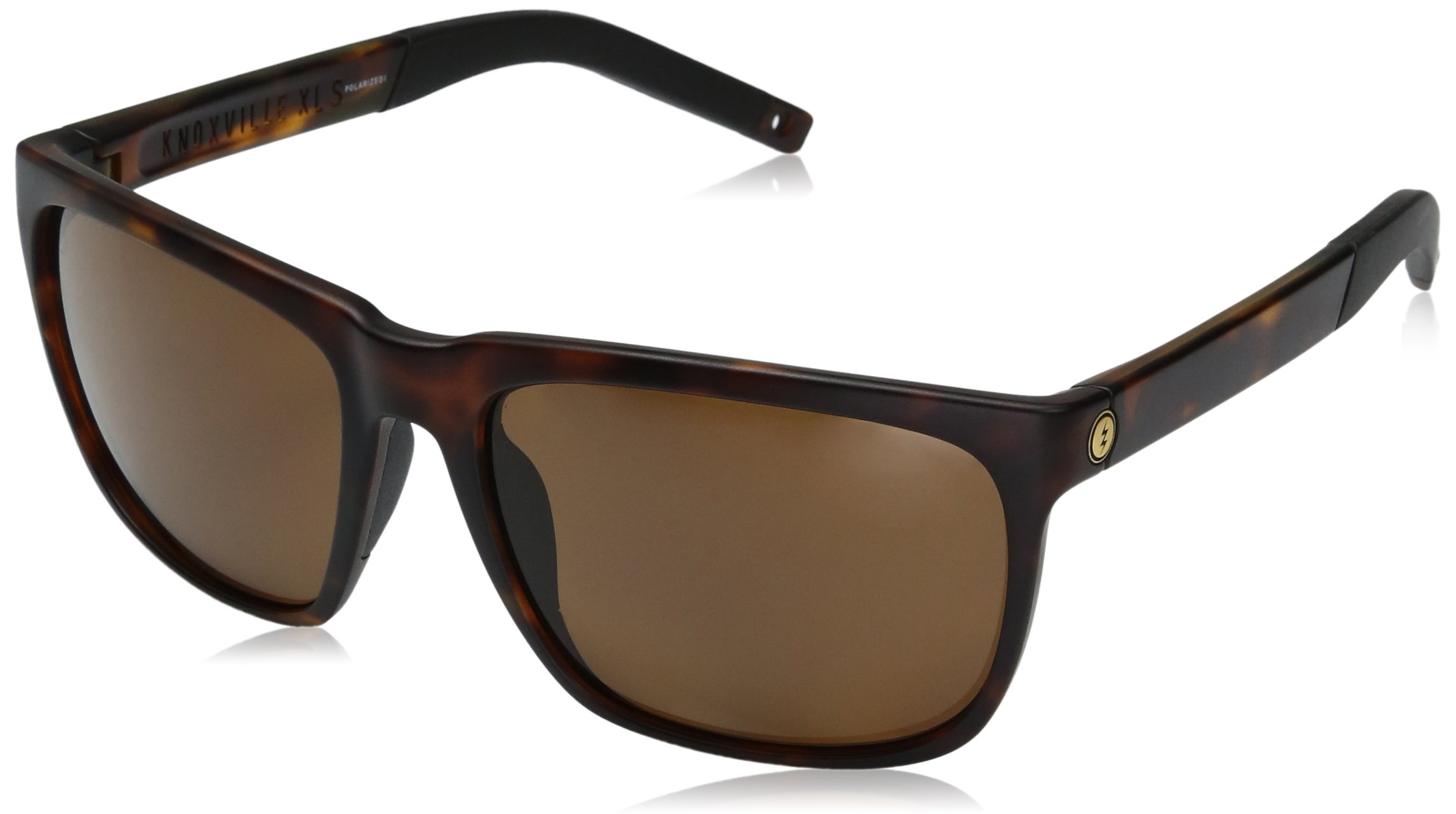 Electric Visual Knoxville XL S Matte Tortoise/Polarized Bronze Sunglasses