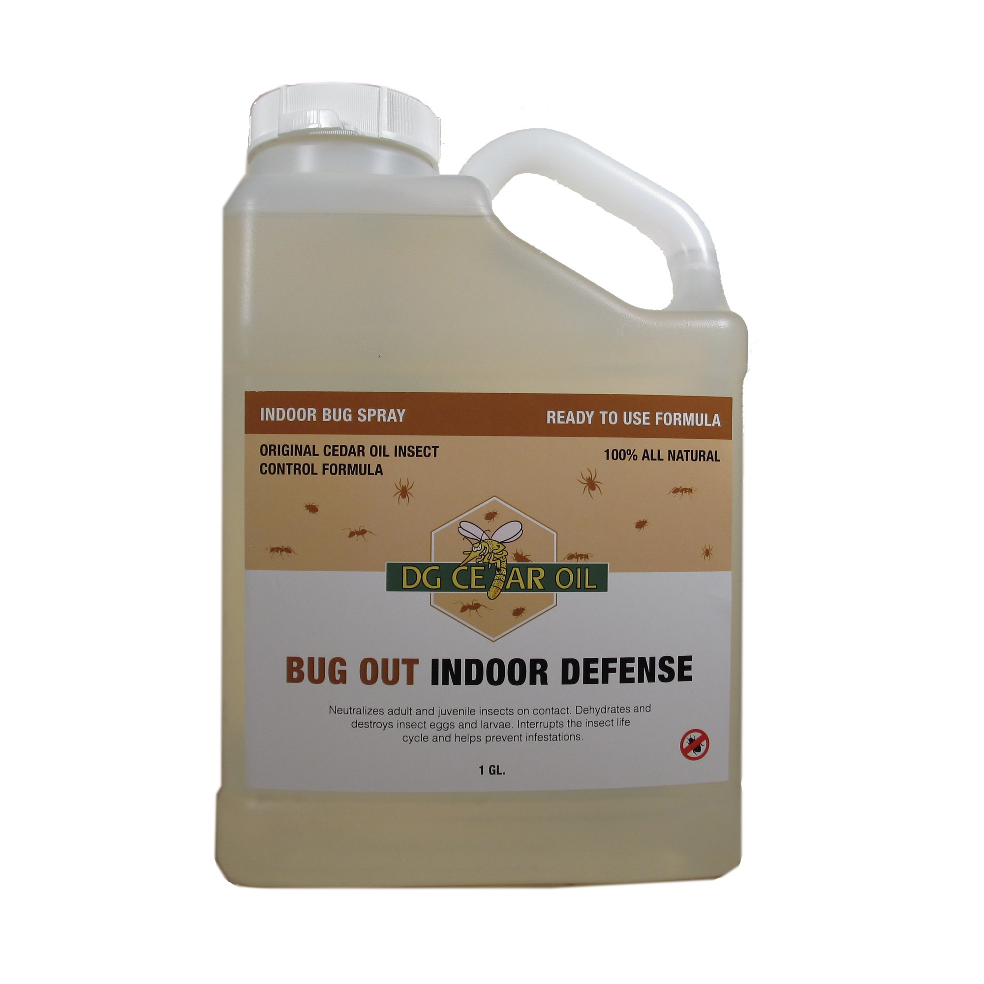 DG Cedar Oil Indoor Pest Control Spray (Gallon) by DG Cedar Oil
