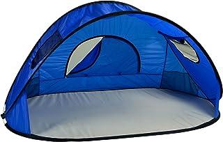 pique-nique à Ascot Format familial instantanée Easy Up Tente de plage Abri Soleil, Bleu Royal Picnic at Ascot 547-RB