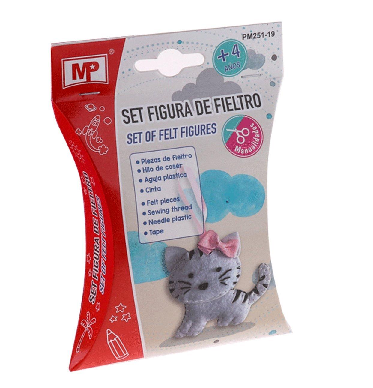 MP Set Figura de Fieltro Gata PM251-19